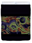 H Abs Lizzy Tail Wd2 Duvet Cover