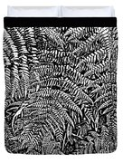 H Ferns Cont Z Duvet Cover