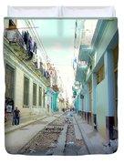 Habana Street Duvet Cover
