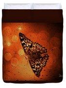 Hackberry Emperor - Asterocampa Celtis Duvet Cover