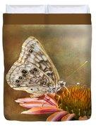 Hackberry Emperor Butterfly 2 Duvet Cover