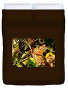 Hackberry Emperor Butterfly Duvet Cover