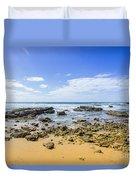 Hadera Mediterranean Beach Duvet Cover