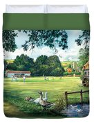 Hadlow Cricket Club Duvet Cover