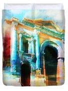 Hadrians Arch Duvet Cover