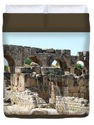 Hadrian's Baths Duvet Cover