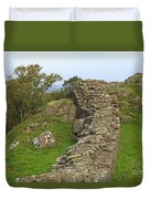 Hadrian's Wall Near Walltown Quarry Duvet Cover