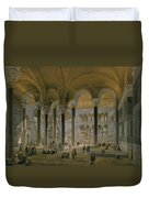 Haghia Sophia, Plate 6 The North Nave Duvet Cover