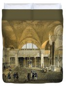 Haghia Sophia, Plate 9 The New Imperial Duvet Cover by Gaspard Fossati