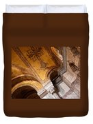 Hagia Sophia Arch Mosaics Duvet Cover