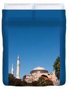 Hagia Sophia Blue Sky 02 Duvet Cover