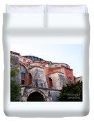Hagia Sophia Buttresses Duvet Cover