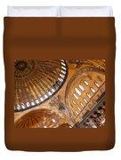 Hagia Sophia Dome 01 Duvet Cover