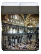 Hagia Sophia Interior Duvet Cover by Joan Carroll