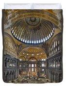 Hagia Sophia Museum In Istanbul Turkey Duvet Cover