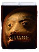 Tlingit Mask Duvet Cover
