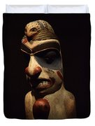 Haida Carving 1 Duvet Cover