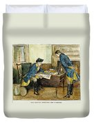Hale & Washington In Nyc Duvet Cover