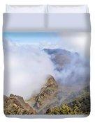 Haleakala Mists Duvet Cover