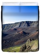 Haleakala Sunrise On The Summit Maui Hawaii - Kalahaku Overlook Duvet Cover by Sharon Mau