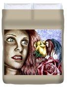 Haleys Apparition Colored Duvet Cover