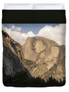 Half Dome As The Sun Drops In The Sky Duvet Cover