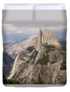 Half Dome From Glacier Point Duvet Cover