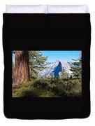 Half  Dome From Sentinel Dome Trail In Yosemite Np-ca Duvet Cover