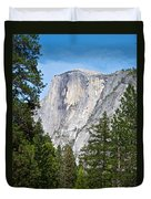 Half Dome In Spring In Yosemite Np-2013 Duvet Cover