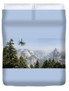 Half Dome Panorama View Duvet Cover