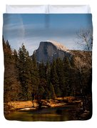 Half Dome Spring Duvet Cover by Bill Gallagher