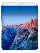Half Dome Twilight Duvet Cover