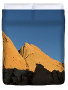 Half Moon At Garden Of The Gods Duvet Cover