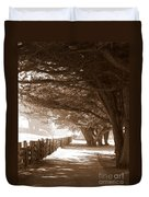 Half Moon Bay Pathway Duvet Cover