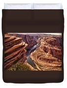 Half Of Horshoe Bend - Page Az Duvet Cover