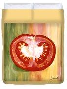 Half-tomato Duvet Cover