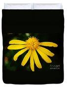 Half Yellow Duvet Cover