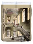 Hall And Staircase At The British Duvet Cover