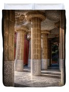Hall Of 100 Columns Duvet Cover