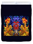 Hall Of The Color King Duvet Cover