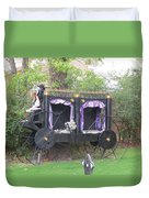 Halloween Carriage Duvet Cover