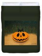 Halloween Kitty Duvet Cover