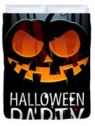 Halloween Party Duvet Cover by Gianfranco Weiss