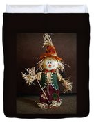 Halloween Scarecrow Duvet Cover