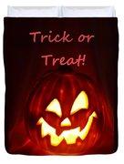 Halloween Trick Or Treat Duvet Cover