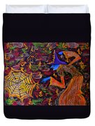 Halloween Witch Duvet Cover