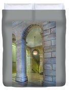 Hallway New York Public Library Duvet Cover
