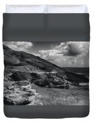 Halona Blowhole Lookout- Oahu Hawaii Duvet Cover