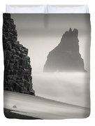 Halsenifs Hellir Sea Stack Duvet Cover