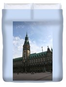 Hamburg - City Hall - Germany Duvet Cover